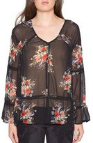 Willow & Clay Women's Floral Print Blouse