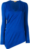 Fay long sleeved knitted top - women - Silk/Wool - L
