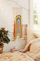 Urban Outfitters Rainbow Weave Wall Hanging