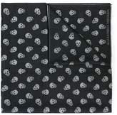 Alexander McQueen 'Skull' knit scarf