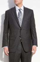 Hickey Freeman Men's Addison A Fit Wool Suit
