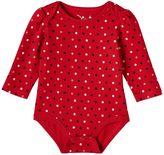 Baby Girl Jumping Beans® Glittery Print Bodysuit