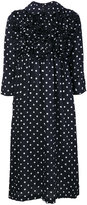 Comme des Garcons polka dot dress