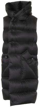 Rick Owens Liner sleeveless down puffer coat