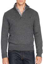 Polo Ralph Lauren Big and Tall Cotton Half-Zip Sweater