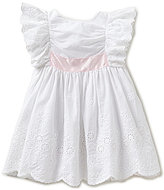 Edgehill Collection Little Girls 2T-4T Bow-Back Dress