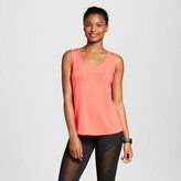 Women's Mesh Back Graphic Tank Top - Pink - Anna Kaiser for C9 Champion®
