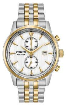 Citizen Eco-Drive Corso Two-Tone Stainless Steel Bracelet Watch