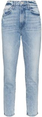 Jordache Vintage straight-leg PVC-pocket jeans