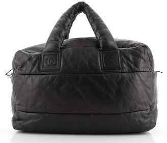 Chanel Coco Cocoon Bowling Bag Quilted Lambskin Large