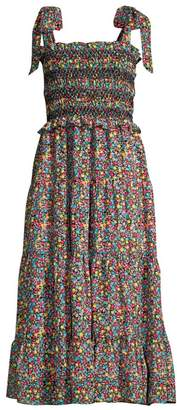 LIKELY Delfina Ditzy Floral Smocked Dress