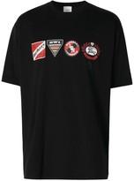 Burberry Logo Graphic Oversized T-Shirt
