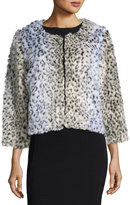 Raga Animal Instincts Faux-Fur Coat, Multi