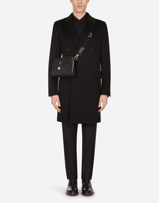 Dolce & Gabbana Double-Breasted Cashmere And Wool Coat