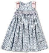 Edgehill Collection Baby Girls 12-24 Months Embroidered Ditsy Floral-Print Dress