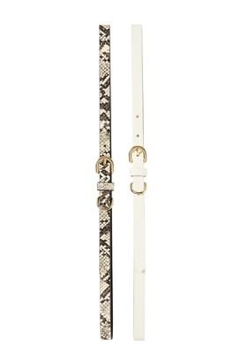 Linea Pelle 2 For 1 Slim Keeper Belts
