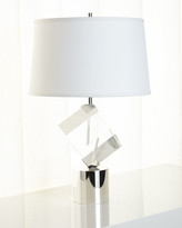 John-Richard Collection John Richard Collection Crystal-Cube Table Lamp
