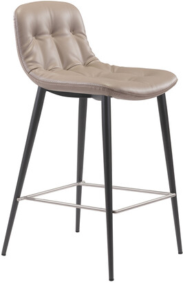 ZUO Set Of 2 Tangiers Counter Chair