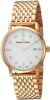 Maurice Lacroix Women's Eliros Swiss-Quartz Watch Strap