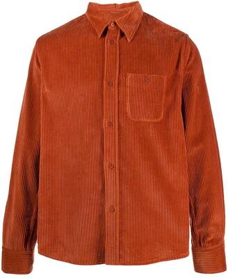 Kenzo Corduroy Spread-Collar Overshirt