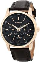 Citizen Men's BU2013-08E Dress Analog Display Japanese Quartz Brown Watch