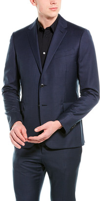 Valentino 2Pc Wool Suit With Flat Pant