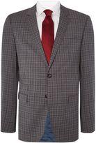 Tommy Hilfiger Rebel Steel Slim Fit Check Suit