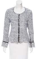 Alexis Tweed Zip-Up Jacket