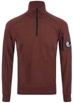 C.P. Company Half Zip Sweatshirt Red