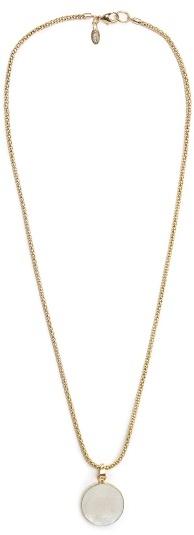 MANGO Stone pendant necklace