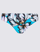M&S Collection Floral Print Hipster Bikini Bottoms