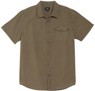 O'Neill Steaddy Short Sleeve Button Down Shirt