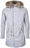 Pretty Green Kallerton Parka Grey