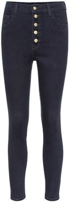 J Brand Lillie high-rise skinny jeans