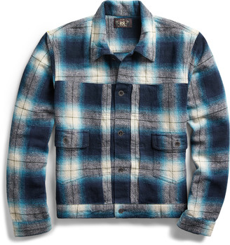 Ralph Lauren Plaid Shirt Jacket