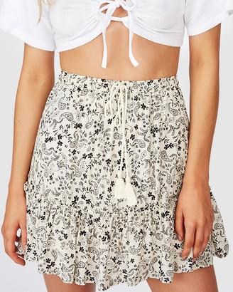 Cotton On North Tiered Mini Skirt