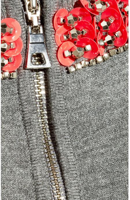 Milly Liya embellished knitted tank