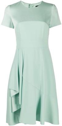 Paule Ka Ruffle-Detail Cocktail Dress