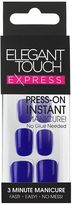 Express Elegant Touch Polished Bright Navy False Nails