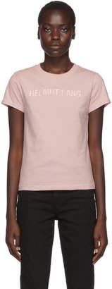 Helmut Lang Pink Standard Baby Tee