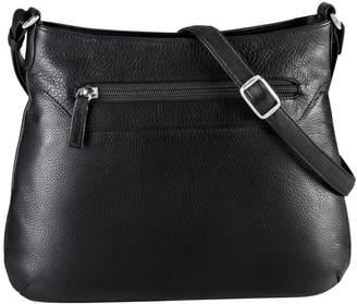 Derek Alexander Medium Central Park Leather Crossbody Bag