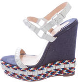 Christian Louboutin Cataclou 140 Wedge Sandals