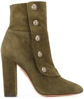 Aquazzura 'Private' boots - women - Leather/Suede - 36