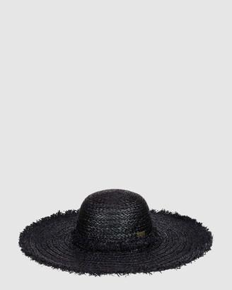 Roxy Catch Me By The Sea Straw Sun Hat