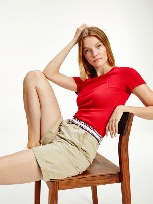 Tommy Hilfiger TH Cool Contrast Belt Shorts