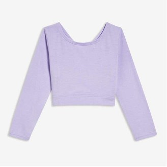 Joe Fresh Toddler Girls' Dance Crop Tee, Lavender (Size 3)