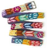 Jenny Krauss Floral Skinny Belt