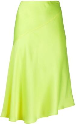 Helmut Lang Asymmetric Slip Skirt