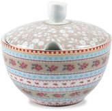 Pip Studio Ribbon Rose Sugar Bowl - Khaki