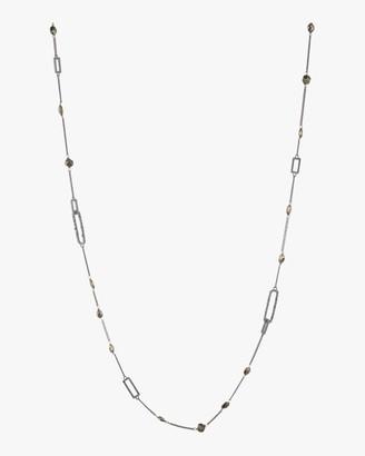 Alexis Bittar Crystal Encrusted Link Necklace